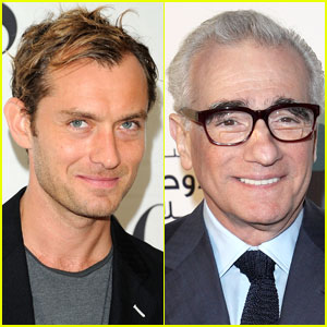 Jude Law & Martin Scorsese Team Up For 'Cabret'