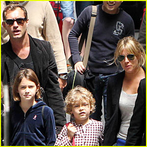 Jude Law & Sienna Miller: Family Ties