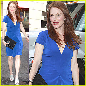 Julianne Moore is Luncheon Lovely