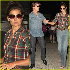 Katie Holmes & Tom Cruise: Dinner Date!