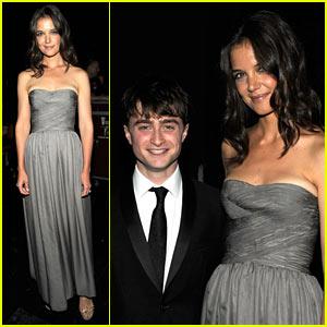 Katie Holmes: Tony Awards with Daniel Radcliffe!