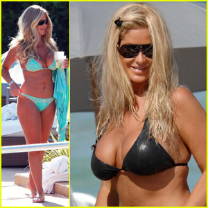 The Real Housewives of Atlanta star Kim Zolciak breaks out the bikini while ...
