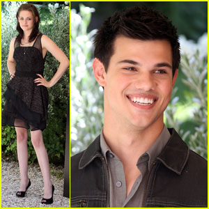 Kristen Stewart & Taylor Lautner: When In Rome