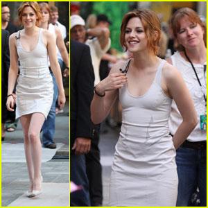 Kristen Stewart: Today Show Chic!