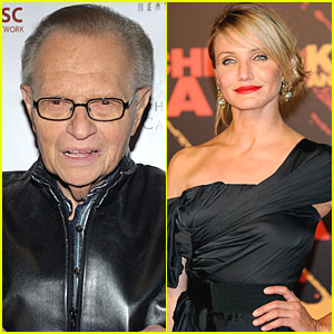 Larry King Taps Cameron Diaz for Oil Spill Telethon