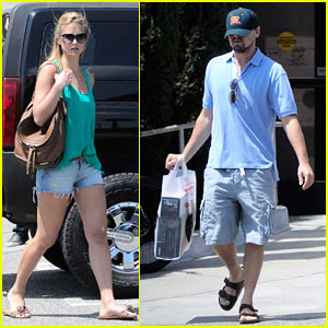 Leo DiCaprio & Bar Refaeli: Samy's Camera Couple