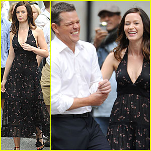 Matt Damon: Reshoots with Emily Blunt!