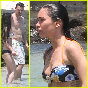 Megan Fox & Brian Austin Green: Kiss In Kona