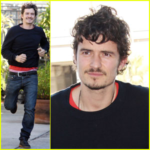 Orlando Bloom Takes Flight!
