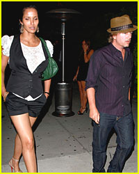 David Spade & Padma Lakshmi Spotted Out Together