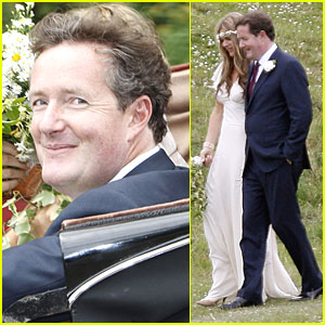 Piers Morgan: Wedding Pictures with Celia Walden!