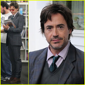 Robert Downey Jr. Starts His 'Avengers' Homework