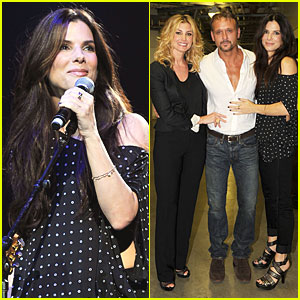 Sandra Bullock: Surprise Appearance at Nashville Rising!