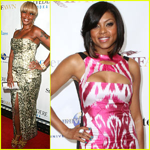 Taraji P. Henson: An Evening with Mary J. Blige!