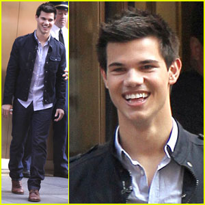 Taylor Lautner: Twilight For 'Today'
