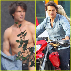Tom Cruise: Shirtless 'n' ESPN!