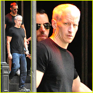 Anderson Cooper &#038; Ben Maisani: David Barton Gym Dudes