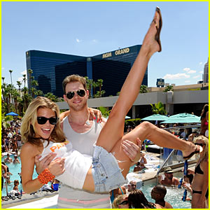 AnnaLynne McCord: Birthday Pool Party with Kellan Lutz!