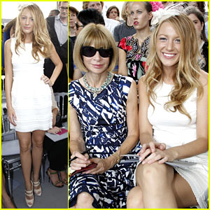 Blake Lively & Anna Wintour Pair Up For Paris Fashion Week