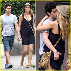 Blake Lively & Penn Badgley: Squeeze Play