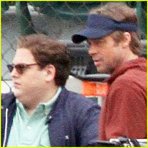 Brad Pitt & Jonah Hill: 'Moneyball' Men