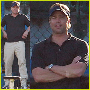 Brad Pitt: Take Me Out to The Moneyball Game...