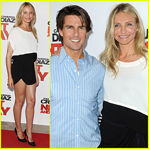 Cameron Diaz & Tom Cruise: Bordeaux Bunch