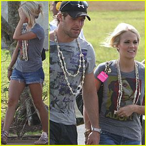 Carrie Underwood & Mike Fisher: Honeymoon in Tahiti!