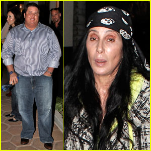 Cher & Chaz Bono: Family Fun in Malibu