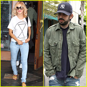 Christina Aguilera & Jordan Bratman: Lunch Date!