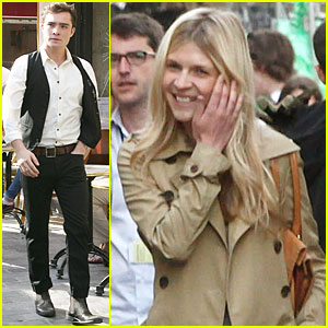 Ed Westwick: Filming 'Gossip Girl' with Clemence Poesy!