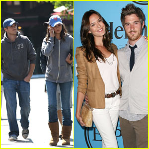 Dave Annable & Odette Yustman: Fat Tuesday Fun!