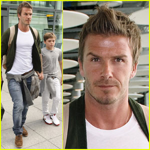 David Beckham & Brooklyn Beckham: On To Wimbledon!