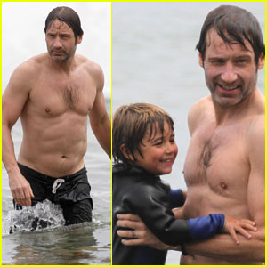 David Duchovny: Shirtless Independence