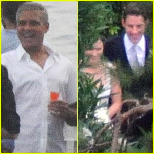 George Clooney: Emily Blunt & John Krasinski's Wedding Guest!