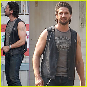 Gerard Butler is the Machine Gun Preacher