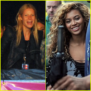 Gwyneth Paltrow Joins Beyonce To Watch Jay-Z In Concert