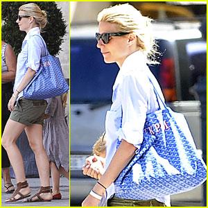 Gwyneth Paltrow & Apple Martin: Parisian Pair