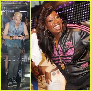 Jared Leto Gets His Freak On at Missy Elliott Show