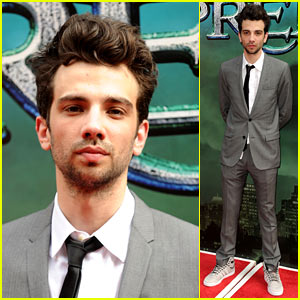 Jay Baruchel Premieres 'The Sorcerer's Apprentice' in NYC