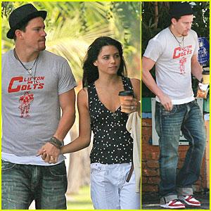 Channing Tatum & Jenna Dewan are Sunday Shoppers