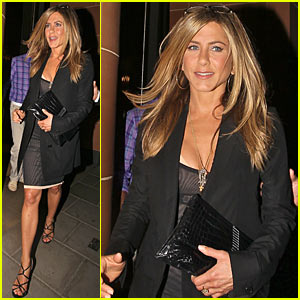 Jennifer Aniston: Cipriani Dinner Date