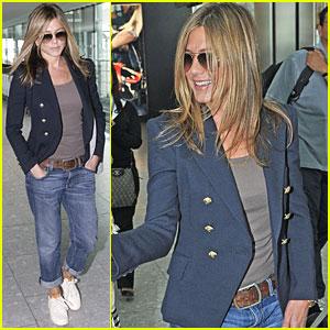 Jennifer Aniston is Leaving London