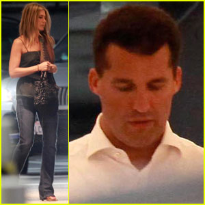Jennifer Aniston & Scott Stuber: Date Night!