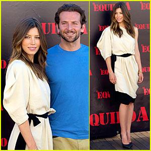 Jessica Biel & Bradley Cooper: A-Team Makes It To Madrid!