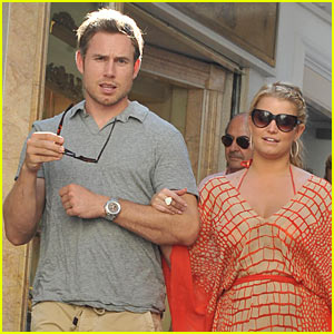 Jessica Simpson Spends 30th Birthday with Eric Johnson
