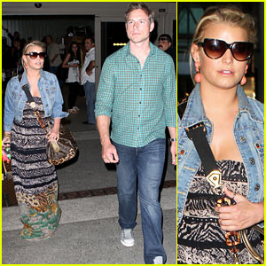 Jessica Simpson & Eric Johnson: Rome Vacation Over!