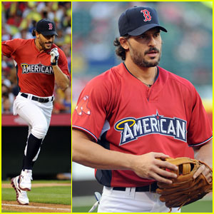 Joe Manganiello Steps Up to The Plate