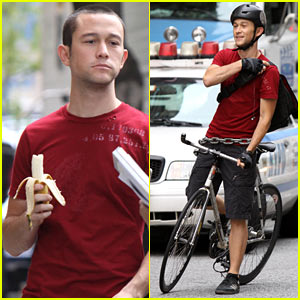 Joseph Gordon-Levitt: 'Premium Rush' Biker