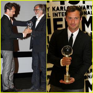 Jude Law: President's Prize in Czech Republic!